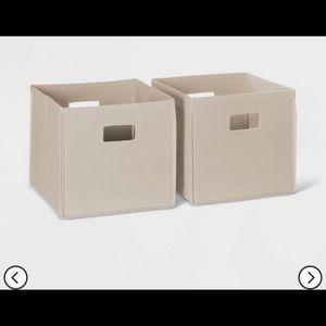 Other - 4 piece bin storage set holder